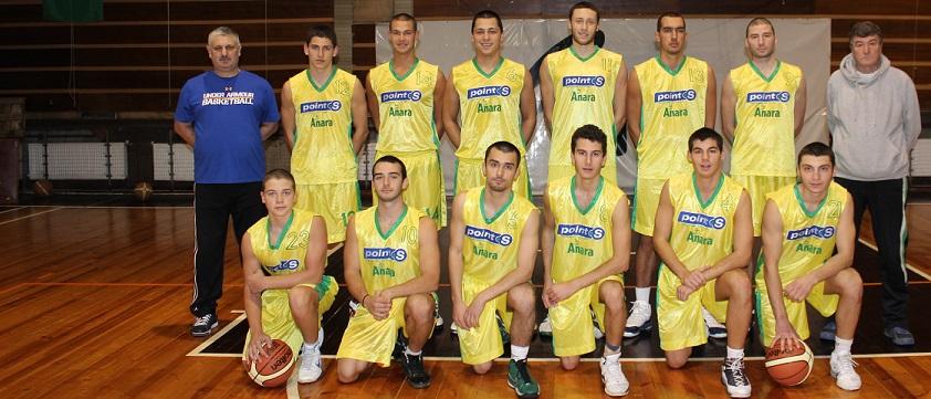 БК Шумен мъже, сезон 2013/2014